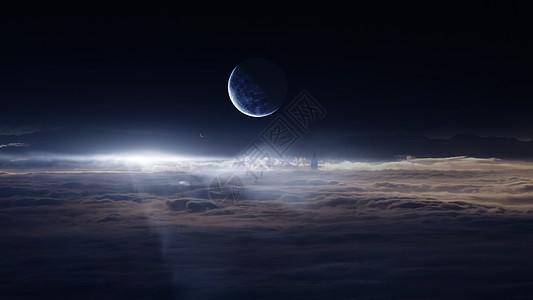云上的星球图片