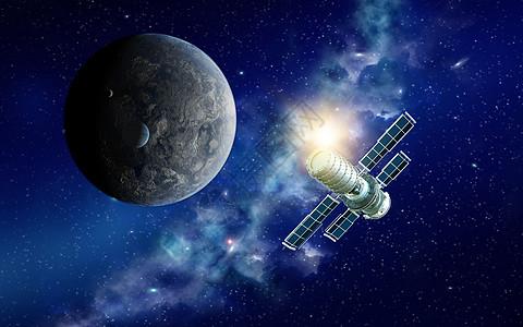 卫星探测图片