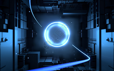 科技立体空间图片