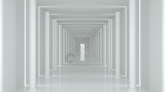 空间走廊图片