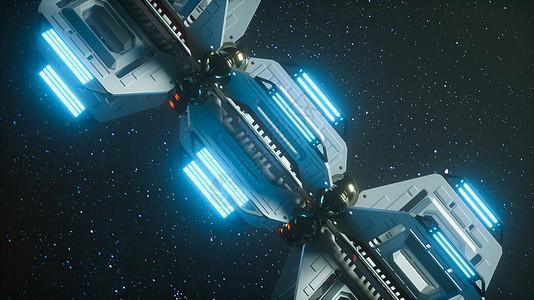 宇宙空间未来机械图片