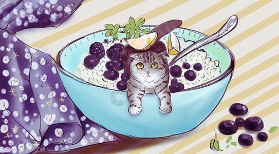 美食插画图片