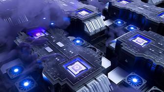 科技电路cpu图片