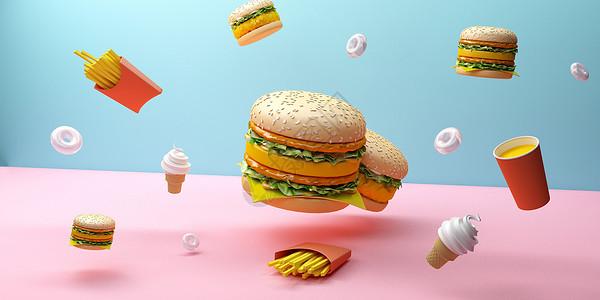 饮食快餐图片