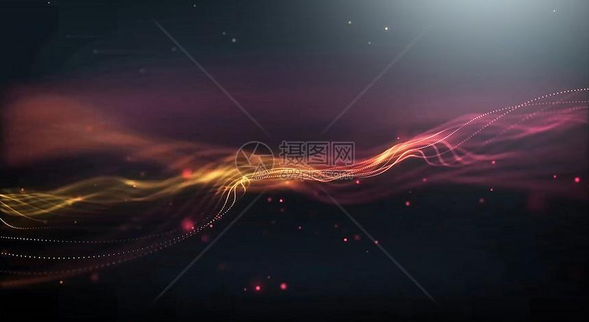 创意科技粒子背景图片