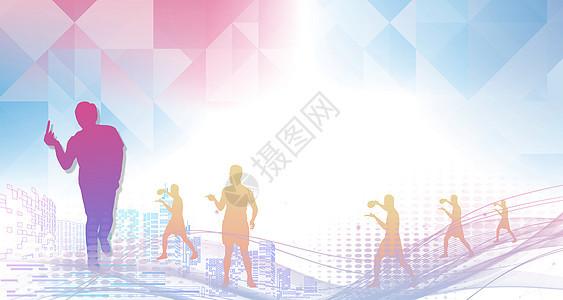 乒乓球运动背景图片