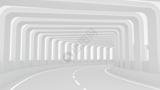 公路通道场景图片