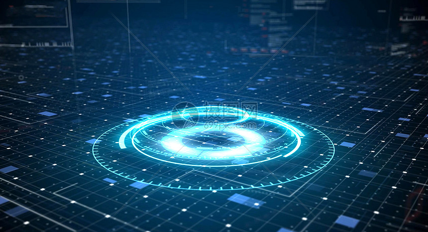 科技数据背景图片