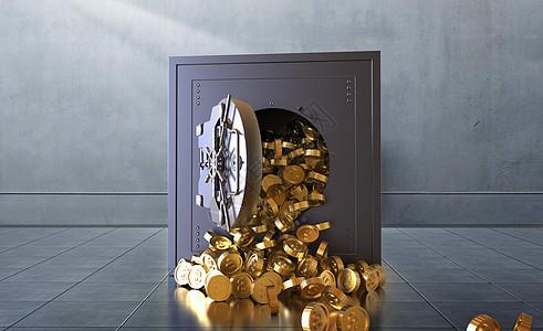 金币保险箱图片