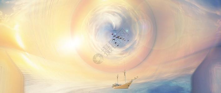 梦幻海景图片