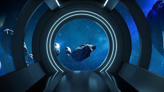 科幻宇宙空间图片