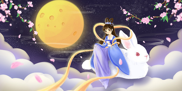 中秋月圆之美图片