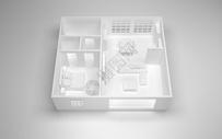 室内住宅模型图片