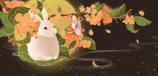 中秋节月夜之美图片