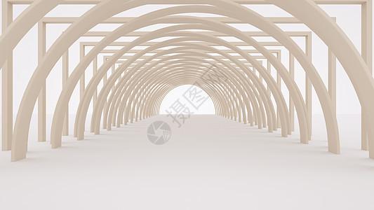 建筑空间通道图片