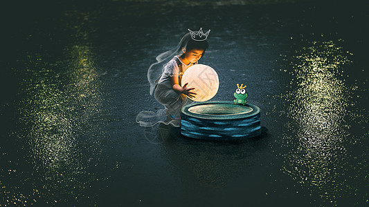 青蛙王子图片