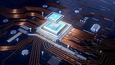 科技芯片图片
