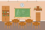 学校场景图片