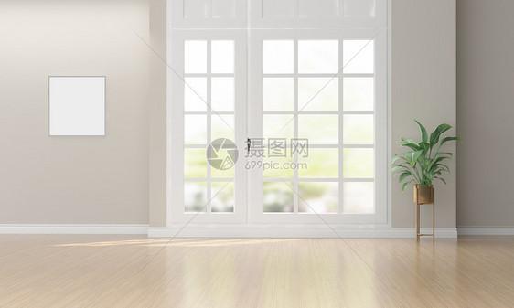 简约清新客厅图片