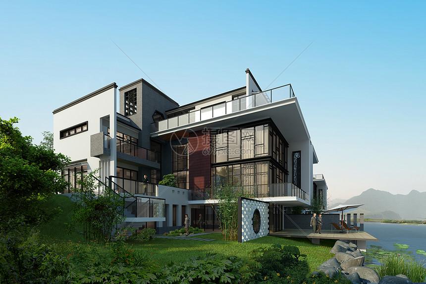 现代别墅建筑图片
