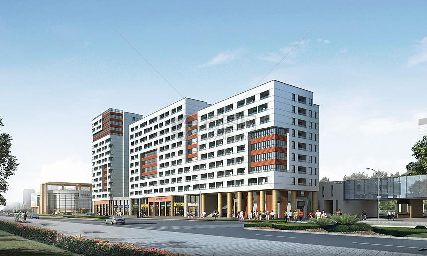 现代商务建筑图片