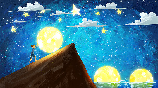 月亮童话图片