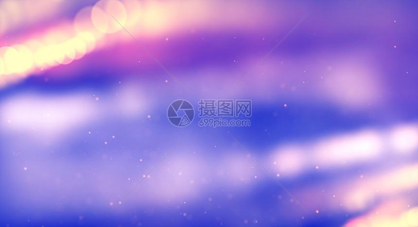 炫彩粒子背景图片
