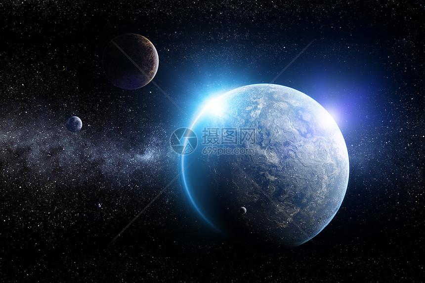 深邃星空图片