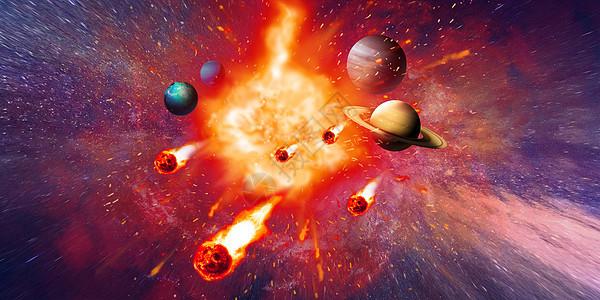 宇宙爆炸图片