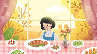 秋分美食吃秋菜图片
