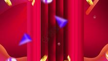 电商红色背景图片
