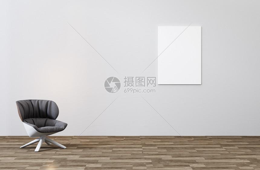 海报样机场景图片