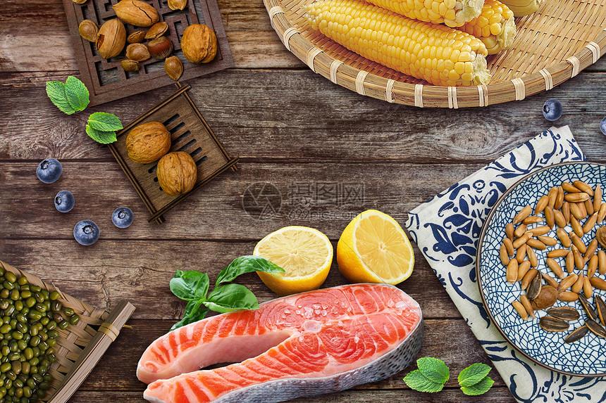 膳食食材图片