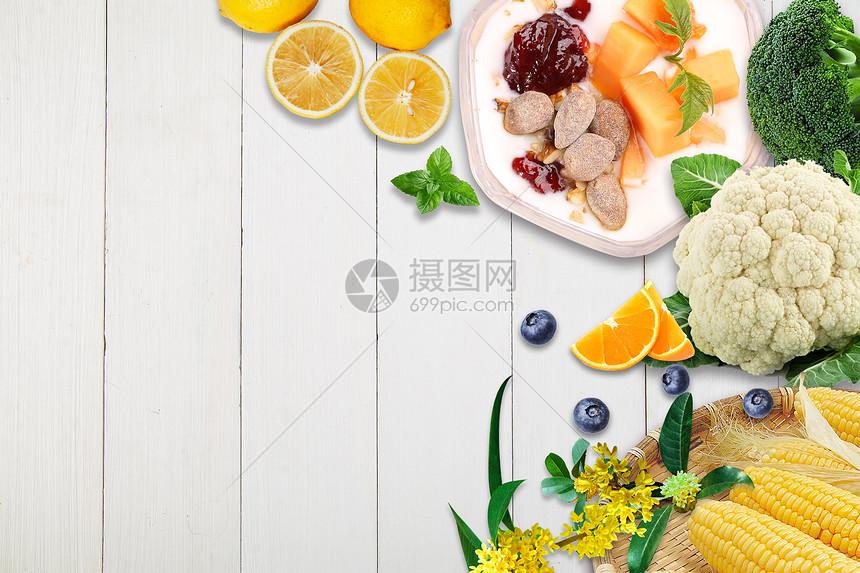滋补膳食食材图片