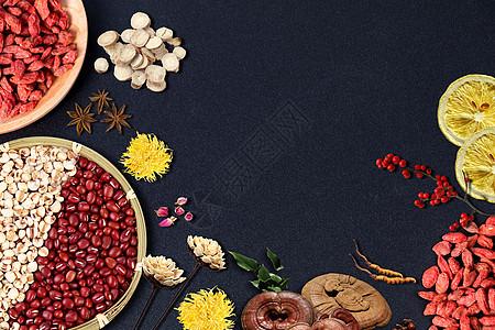 营养膳食背景图片
