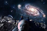 俯视星系图片