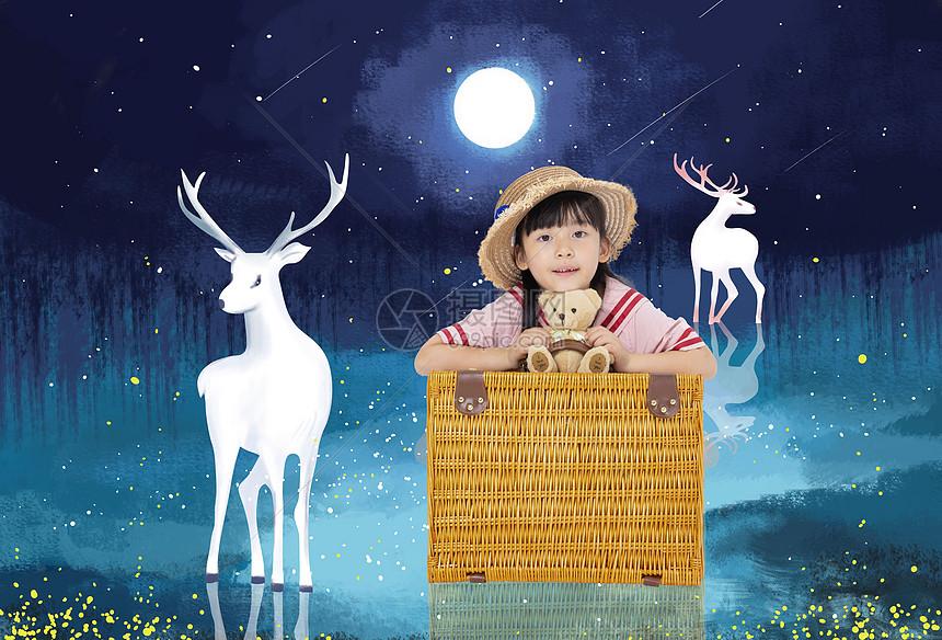 儿童的梦幻世界图片