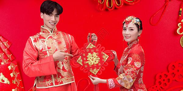 喜庆结婚场景图片