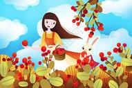 秋天丰收图片