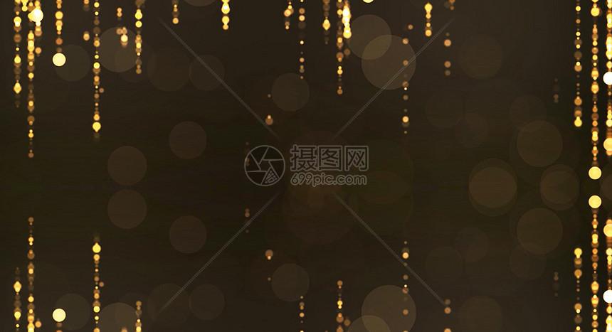 黑金粒子背景图片