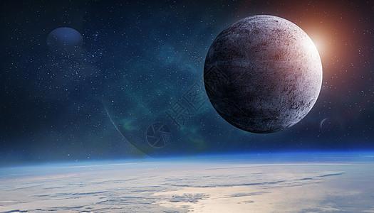闪耀宇宙星球图片