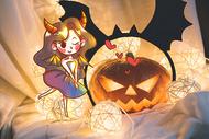 万圣节的女巫恶魔图片
