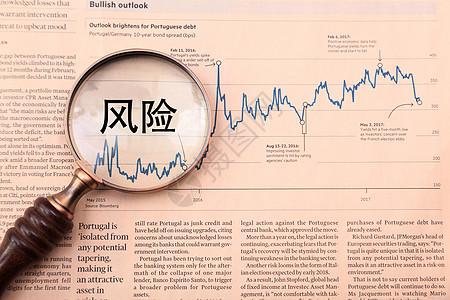 金融股市风险图片