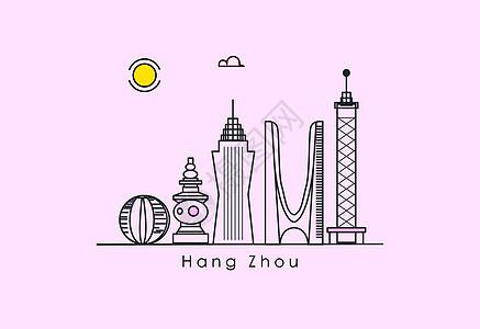杭州地标图片