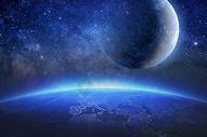 创意梦幻星球图片