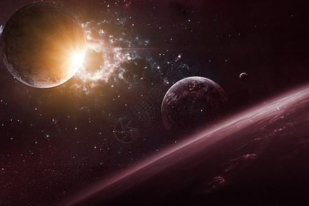 星球炸裂图片