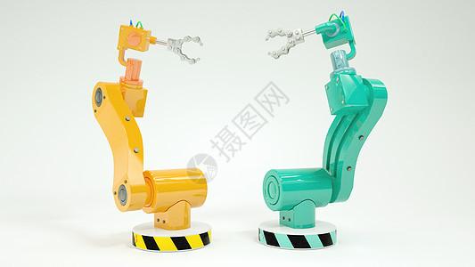 工厂智能机械手臂图片