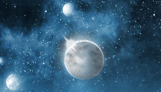 科幻星空图片