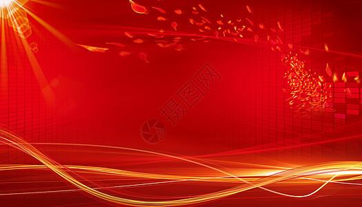 红色大气背景图片