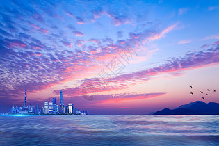 美丽的上海图片